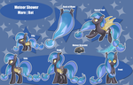 Meteor Shower Reference Sheet by MemeSquid