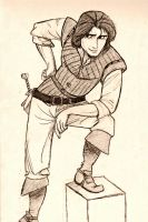 First Drawing of Eugene by DemiFitzherbert