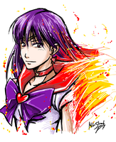 Sailor Mars by Famove