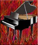 Gambar Piano by alibolong