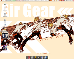 Air Gear desktop by bakaboii