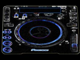 Pioneer CDJ-1000MK3 Wallpaper by RenegadeOfTrance