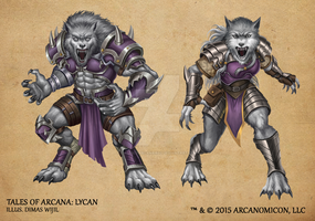 Tales of Arcana 1st Set - Lycan by TalesofArcanaRPG