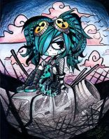 Cybergoth by LauEspi97