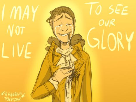 I May Not Live to See Our Glory Cover Art by violetwolf9