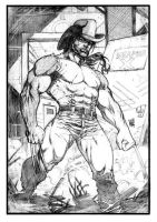 Commission wolverine by wgpencil