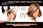 Tut.Short Hair step by step2 by SonotaTyan