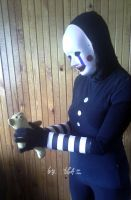 FNAF Puppet Cosplay by TheGoldenAquarius