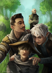 Dragon Age Inquisition: Thedas Selfie by tinhan