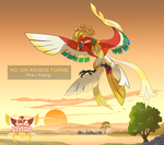 Ho-Oh Arisen Forme by DaybreakM