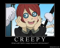 Creepy obsession? by Novarules