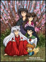 Inuyasha - Family portrait by Klamsi