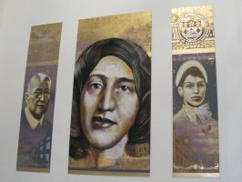George Eliot Triptych 2 by n4t4