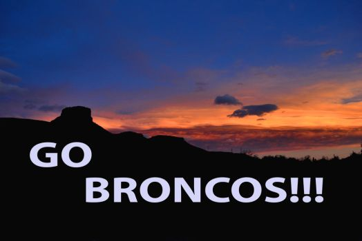 Go Broncos! by mttomimages