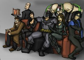 DARK KNIGHT RISES AFTERMATH REVIEW(dialog's down) by Sabrerine911