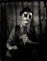 Dead man, ambrotype by Edward-Jekyll