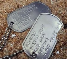 Grif and Simmons dogtags by DancingSmily