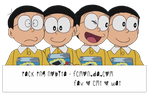 Pack png Nobita by fcmon