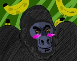 How can my Gorilla be this cute!?!?!?! by vaultboy28