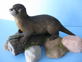 RIVER OTTER 12 by Bagheera3