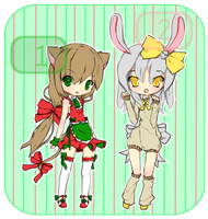 [ADOPTABLES] Winter Holidays [OPEN - AUCTION] by LicoriceAdopts