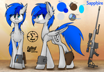 Sapphire Reference Sheet by DILeak