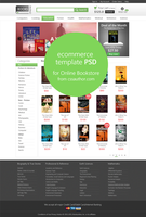 E-commerce Home Page Template PSD by cssauthor
