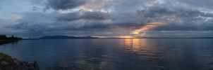 Bellingham Bay Sunset 2012-08-28 by eRality