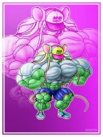 New Muscle Mouse by Drawington