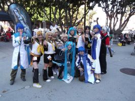 Vocaloids at Anime Expo 2012 by LovingLen4Life