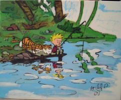 calvin and hobbes by cliford417