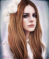Speed Painting: Lana Del Rey by Dasyeeah