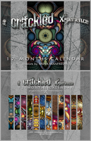 A Crackled X-perience Calendar by Golubaja