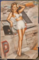 Pinups - Can I join you? by warbirdphotographer