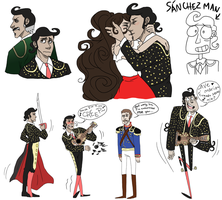 Manolo Colored Sketches by NEOmi-triX