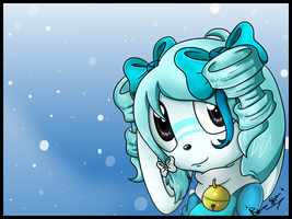 :Gift: Snowbell by Rika-Pika
