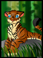 .:Tiger:. by ScarlettFire