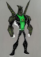 Ben 10000 fusion Diamond X by Kamran10000