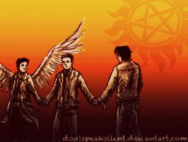 Team Free Will by DontSpeakSilent