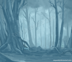 Dead Forest by StePandy