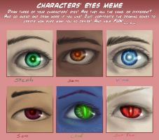 Eye Meme 1 by sisaat