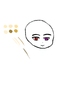 Chibi Head Test and Skin Tones (possibly) by Firestorm999