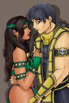 Scorpion and Jade by Migael-Morningstar