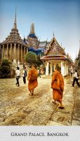 Grand Palace, Bangkok by Pandowo014