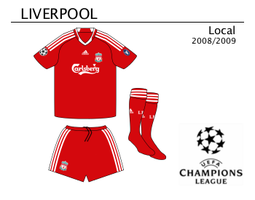 Liverpool Home Kit 08-09 by miicho