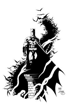 Batman Ink# 1 by SWAVE18