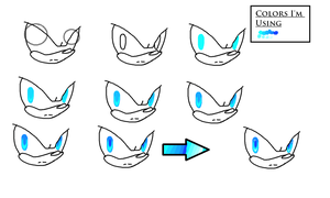 how I draw eyes in paint by JayyVon4Ever