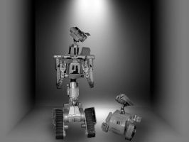 Wall-E meet Johnny by Jayluke2006
