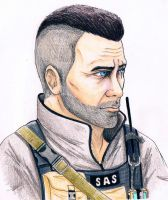 John MacTavish by RedBantom