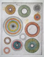 cyclograph coloured by YCSarah